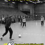 Några tränare som agerar övningstrupp under en Fotboll 2000 tränarutbildning